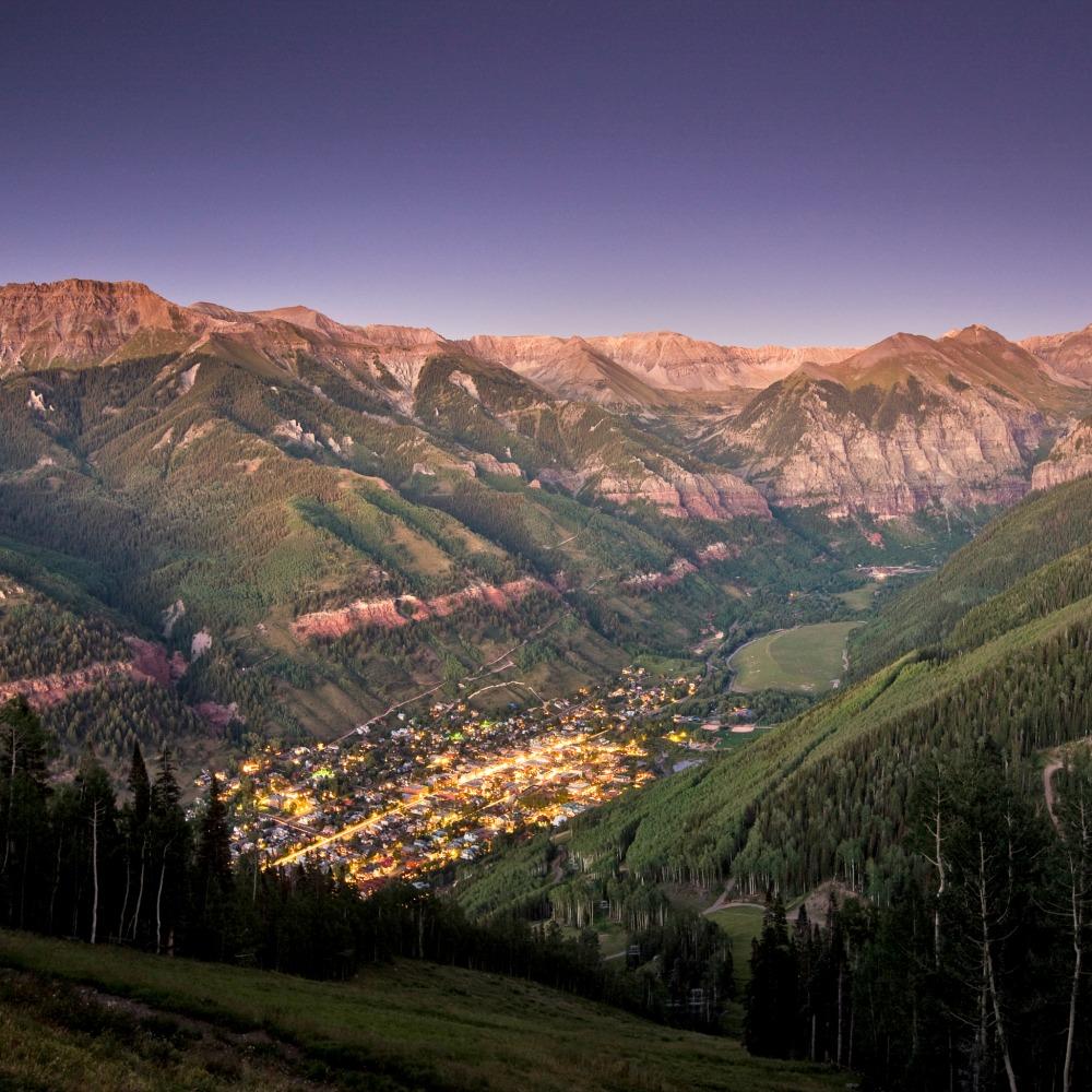 Colorado Images: A Town We Love: Telluride, Colorado